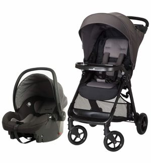 Stroller with car seat and base for Sale in Chelsea, MA