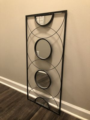 Metal Art with Mirrors for Sale in Durham, NC