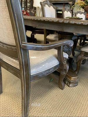 ⚓⚓Best OFFER ⚓ $39 Down Payment  Kiera Gray Formal Dining Set 249 for Sale in Jessup, MD