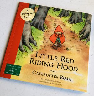 A BILINGUAL BOOK 📖 Little Red Riding Hood for Sale in Dallas, TX