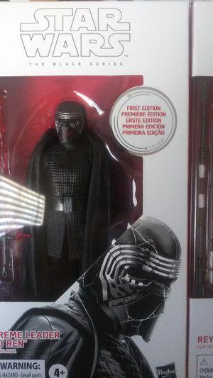 Star Wars Black Series Supreme Leader Kylo Ren & Rey w/ D-O (First Edition) for Sale in San Diego, CA