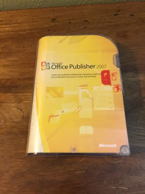 Microsoft office publisher. for Sale in Portland, OR