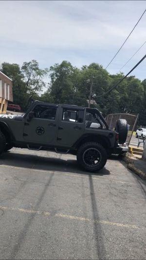 Jeep Wrangler Sahara unlimited 2008 98k miles for Sale in Paterson, NJ