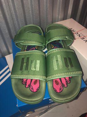 Adidas human race Pharrell willams slides sz11 for Sale in Pompano Beach, FL