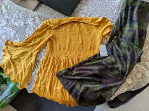 Funky stretchy cute women's outfit for Sale in Dracut, MA