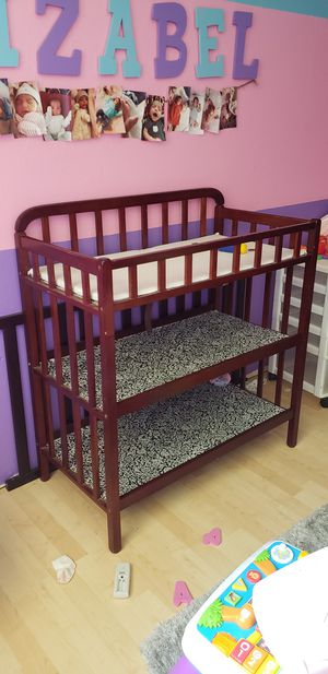 Padded changing Table for Sale in Arlington, TX
