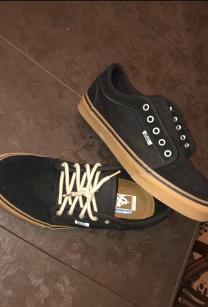 Vans Chukka Low Pro Black, Gum, Casual Skate Shoe for Sale in St. Louis, MO