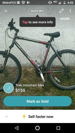 Trek mountain bike for Sale in Oldsmar, FL