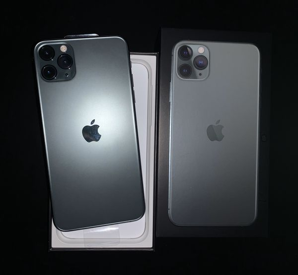 iPhone 11 Pro Max 64GB (Att/Cricket) - Midnight Green Color Brand New