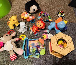 Baby toys infant development lot for Sale in Sterling, VA