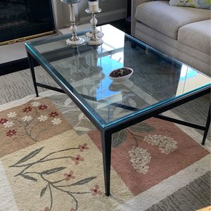 Glass And Metal Coffee Table for Sale in Fullerton, CA