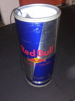 Large Red Bull cooler 4 Ft Tall for Sale in Torrance, CA