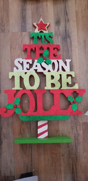Decorative Christmas sign for Sale in Stafford, VA