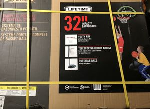 Brand New adjustable basketball hoop. for Sale in North Plainfield, NJ