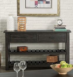 Martin Svensson Home Sofa - Console Table, Antique Black for Sale in Cuyahoga Heights,  OH