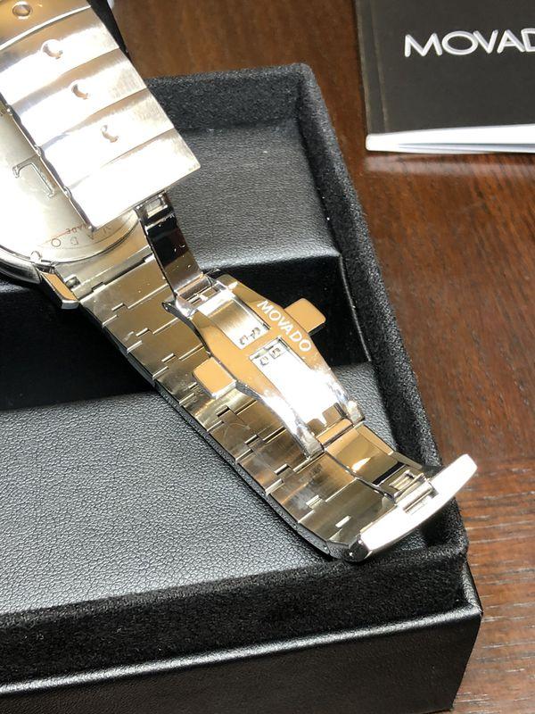 Movado SL chronograph...