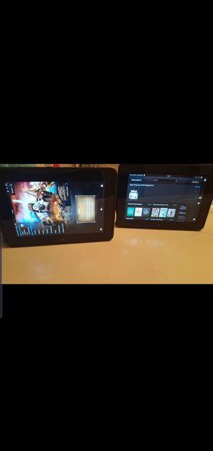 2 Kindle fire HD for Sale in Virginia Beach, VA