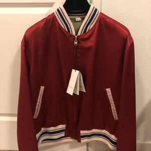 Gucci Mens Reversible Bomber Jacket for Sale in Marysville, WA