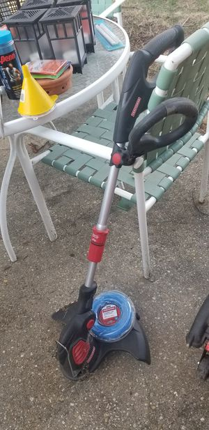 Craftsman Electric Yard Trimmer and Wire for Sale in UNIVERSITY PA, MD