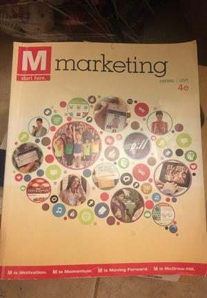 Marketing 4th edition - Grewal & Levy for Sale in Hialeah, FL