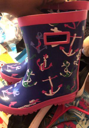 Girls Gymboree rain boots size 13 for Sale in Miami Gardens, FL