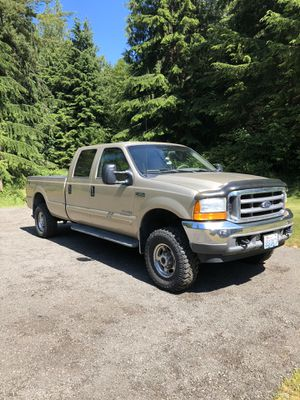 2001 Ford F-350 7.3 Power Stroke Diesel Crew Cab Long bed Lariat for Sale in Sumner, WA
