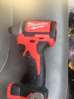 Milwaukee impact drill with charger Brushless for Sale in Summit, IL