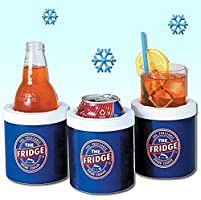 **RARE** LIFOAM THE FRIDGE FREEZABLE FREEZER ICE PACK COLD DRINK BEER SODA SELTZER WATER GYM FITNESS TRAVEL CAN BOTTLE COOLER HOLDER for Sale in La Mesa,  CA
