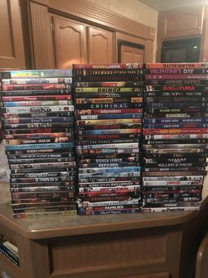 DVD's $1.00 each for Sale in Davenport, IA