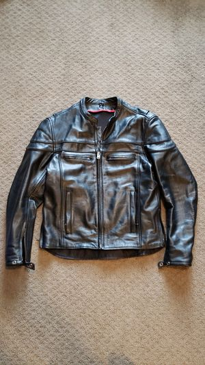 Motorcycle Leather Jacket (small-medium) for Sale in Bolingbrook, IL