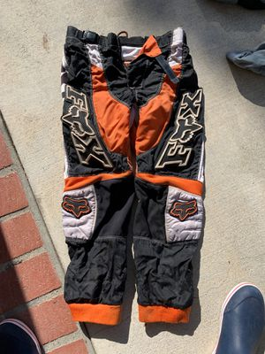 Fox Dirt Bike Pants size 10/26 for Sale in Claremont, CA