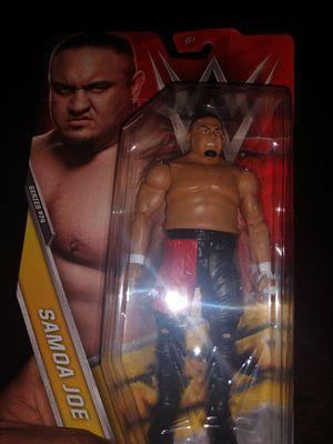 WWE wrestling tna impact wrestler Samoa Joe toy figure for Sale in Oviedo, FL