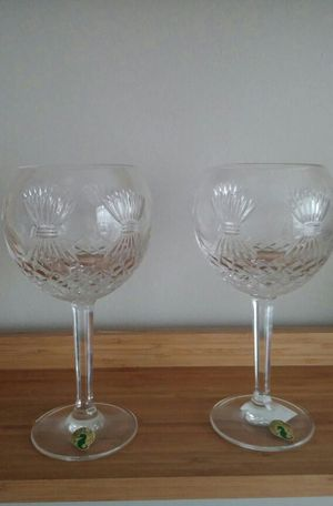 Waterford Crystal Millennium Collection*2 Prosperity Toasting Goblets for Sale in Derwood, MD
