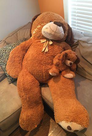 Teddy big bear with bear baby for Sale in Boston, MA