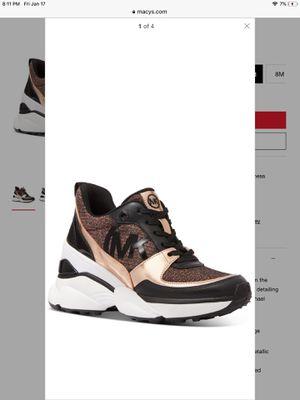MICHAEL Michael Kors Mickey Trainer Wedge Sneakers Brand New for Sale in Santee, CA