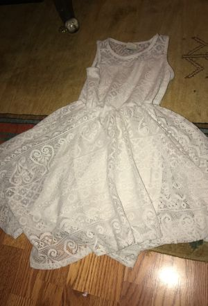 White dress for ten years old for Sale in Nashville, TN