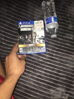 Tom clancy rainbow six siege ps4 for Sale in Poway, CA