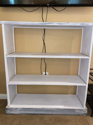 Solid Wood Medium Bookshelf for Sale in Las Vegas, NV