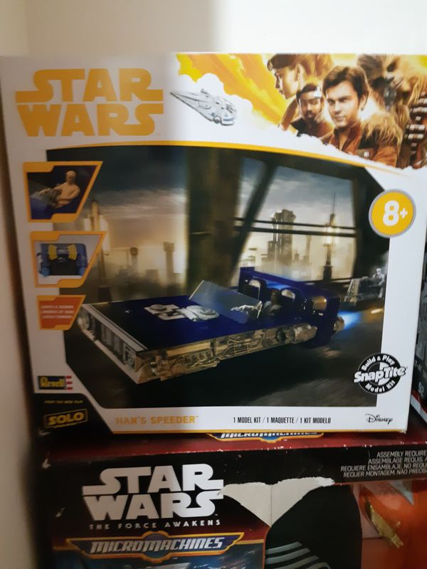 Star Wars Toys & Collectibles $7.00 Each