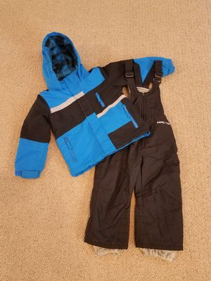 Snow clothes size 3 toddler snow bib winter snow coat jacket for Sale in Gilbert, AZ
