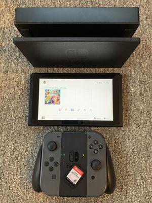 Nintendo Switch + Super Smash Bros Bundle for Sale in Lynnwood, WA
