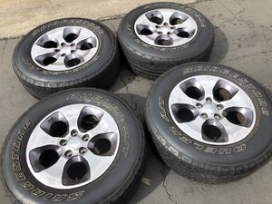"(4) 18"" Jeep Wrangler Wheels - $225 for Sale in Santa Ana, CA"