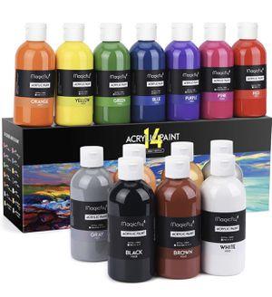Acrylic paint big set 14colors for Sale in Dublin, CA
