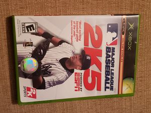 MAJOR LEAGUE BASEBALL 2K5 for Original Microsoft Xbox System for Sale in Chambersburg, PA