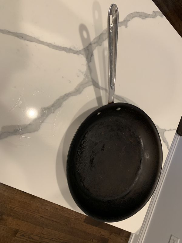 """ALL CLAD d5 stainless steel non stick Fry pan 12"""""""