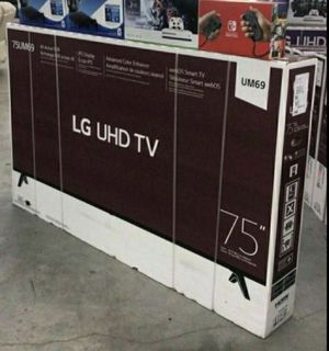 "75"" LG smart 4K led uhd hdr tv for Sale in Chula Vista, CA"