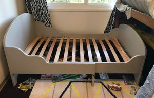 TROGEN Ext bed frame with slatted bed base grey for Sale in Phoenix, AZ