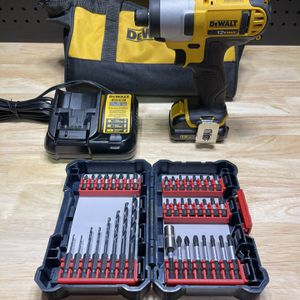 NEW DeWalt 12V Impact Kit With Bosch Impact Set for Sale in Archbald, PA