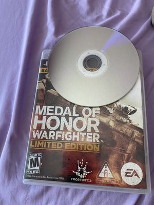 Medal of Honor warfighter limited edition for Sale in Santa Maria, CA
