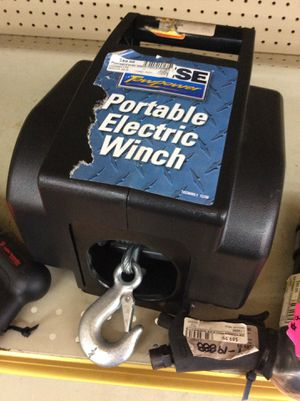 Portable electric winch for Sale in Dallas, TX